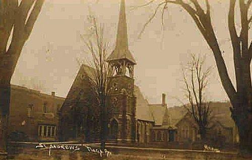Records Of St Andrews Church Tioga Borough Tioga County Pa