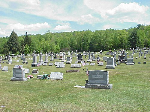 Obituaries - St. Andrew\'s Cemetery, Bloss Township, Tioga County PA